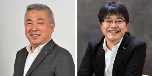 (左)イトーヨーカ堂・富永朋信氏、(右)エステー・鹿毛康司氏