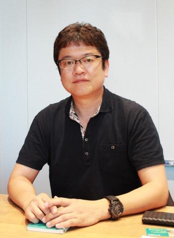 アクセスブライト柏口之宏代表取締役。セガ・チャイナを設立、初代董事兼総経理兼CEOに。2007年、独立しアクセスブライトを設立。現在、同社の本社は東京・大手町に、中国法人は上海にある(写真提供/波多野絵理)