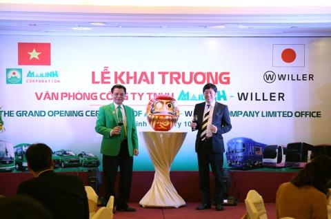 ベトナム最大手のタクシー会社と合弁会社を設立。インバウンド対応も狙って、配車アプリなどでの連携を模索している