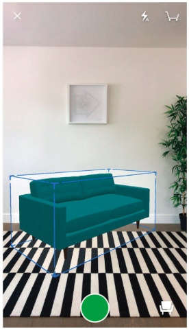 """Build.comのARツールを使えば、自宅の部屋に画面を通して家具を""""配置""""できる"""