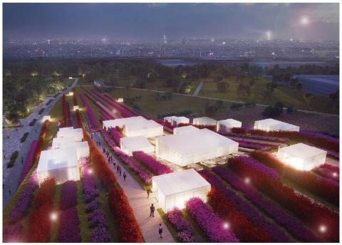 2024年に、パリ郊外でオープン予定の「ヨーロッパシティー」のホテル