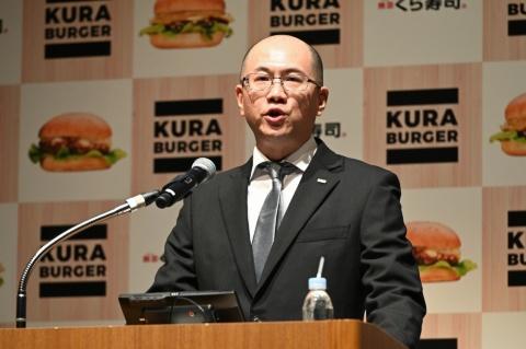 くらコーポレーションの田中信副社長