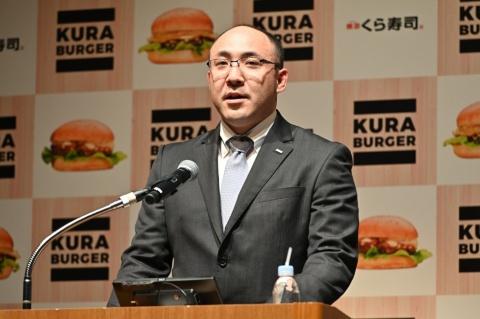 くらコーポレーション製造本部商品開発部の松島由剛マネージャー
