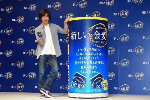2019年2月26日の新CM発表会に登場した新CMキャラクターの木村拓哉。パッケージデザインも手書き風メッセージに変え、「幸せな食卓」を表現
