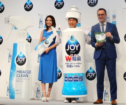 P&Gは食器用洗剤「ジョイ」を23年ぶりに全面刷新した