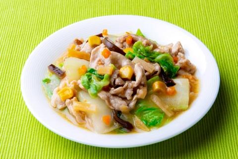 「八宝菜」の調理例