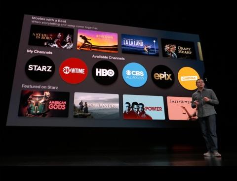 米国を代表するCATV局、IPTVサービスを展開するチャンネルなどがApple TV appのプラットホームに加わる