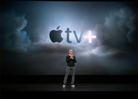アップルは独自制作の動画コンテンツを定額配信する「Apple TV+」を発表
