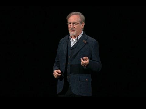 Apple TV+の応援に駆けつけたスティーブン・スピルバーグ氏
