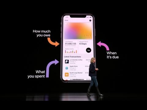 iPhoneの中にアップル独自のカードが持てる「Apple Card」