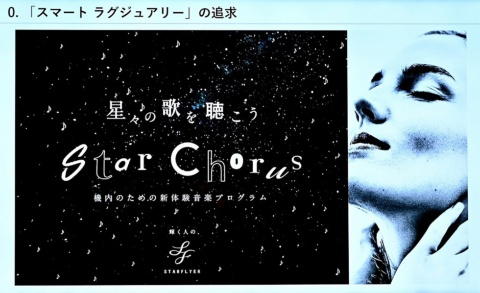 星の鼓動を音楽にした「星々の歌を聴こう Star Chorus」は、2018年2月から3月にかけて展開されたスマートラグジュアリー