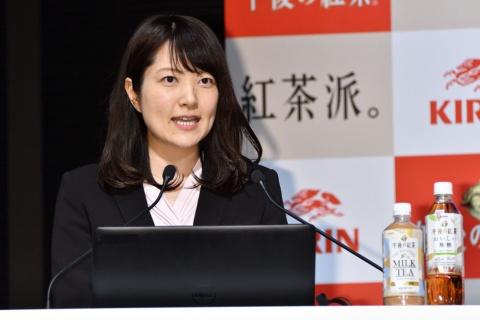 キリンビバレッジマーケティング部 商品担当部長代理の加藤麻里子氏