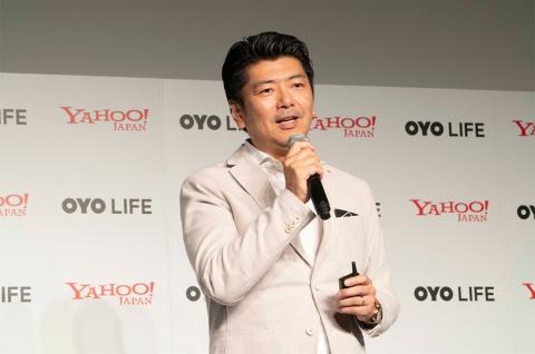 「OYO LIFE」のメリットについて語る勝瀬CEO