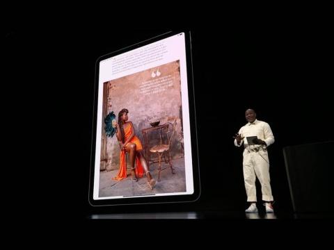 iPad ProやiPhone最新モデルの大画面を生かした、動画とテキストを交えたダイナミックな表現もApple News+の特徴