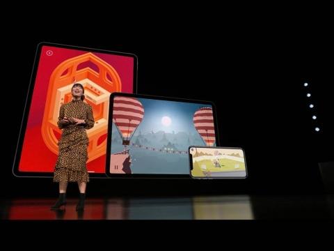 Apple ArcadeのゲームコンテンツはiOS/macOS/tvOSで楽しめる