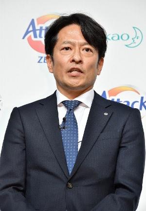 花王のファブリックケア事業部長の中尾良雄氏