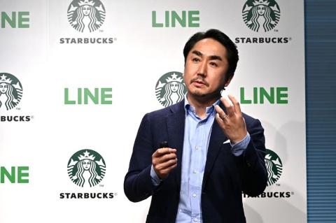 マンスリーユーザー7900万、デイリーユーザー6600万という巨大な規模に成長したLINE。出澤剛社長はスターバックスとの提携でさらなる成長をもくろむ