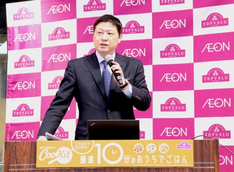 イオントップバリュ取締役マーケティング本部本部長の和田浩二氏