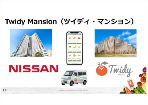 ダブルフロンティアが日産自動車、東電グループと組んだ「Twidy Mansion」