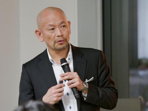 「日経クロストレンド・ミートアップ」で講演した、クー・マーケティング・カンパニー代表取締役の音部大輔氏