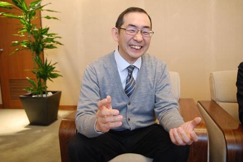 三省堂 出版局・辞書出版部の奥川健太郎氏。自身は三重県出身で、特別にどこかの球団のファンというわけではなかったという