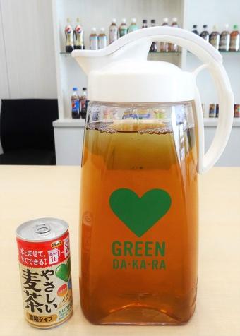 サントリー食品が初の缶入り濃縮麦茶 手軽さで子育て世代狙う(画像)