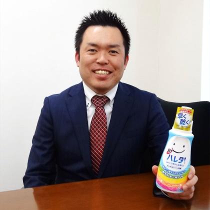 ライオンファブリックケア事業部ブランドマネジャーの金子智之氏