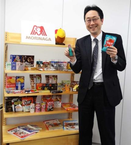 森永製菓・菓子第二マーケティング部長の村瀬光隆氏