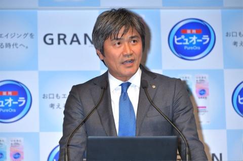 花王パーソナルヘルスケア事業部長の吉海(よしがい)直樹氏