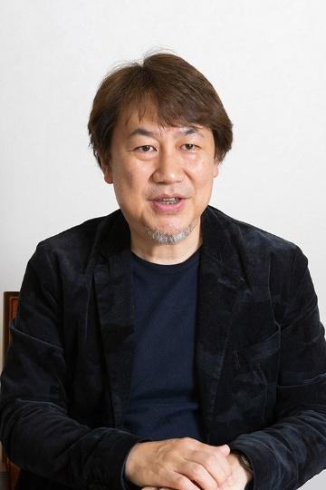 「ガンダムを世界中で誰もが知る存在にしていきたい」と話すサンライズ社長の浅沼誠氏
