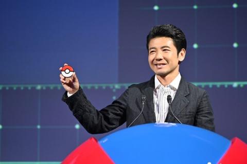 任天堂ハードウエア開発部の丸山和宏氏。「Pokemon GO Plus +は、昼間はPokemon GO Plusとしても使える」という