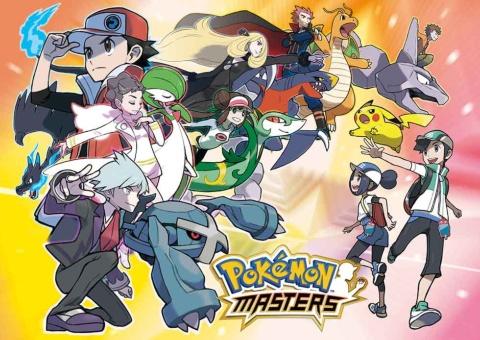 19年6月公開予定の新作アプリゲーム『Pokemon Masters』