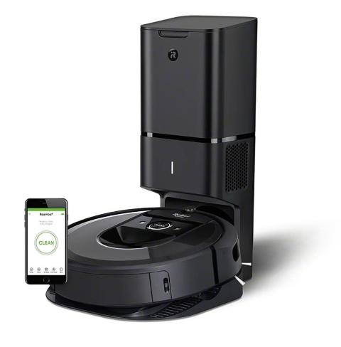 「ルンバ i7+」はセンサーによって壁や家具の位置を把握し、掃除をすると同時に家の間取りをマッピングする機能を搭載している