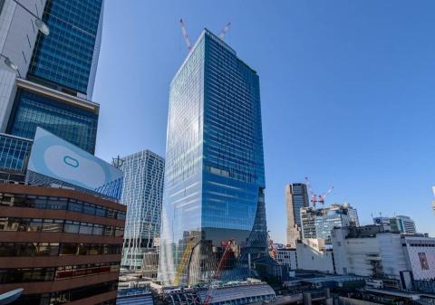 「渋谷スクランブルスクエア」(東京都渋谷区渋谷2-24-12)。第1期開業する東棟は地上47階、地下7階建て。延べ床面積約18万1000平方メートル