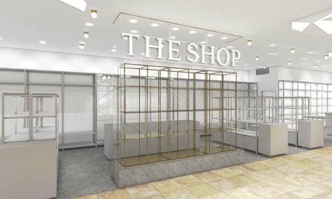 「THE SHOP」の営業時間は10〜21時。売り場面積は83平方メートル