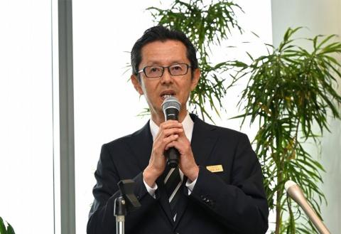 八方尾根開発の倉田保緒社長