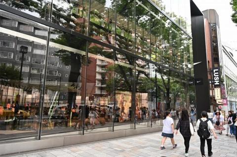 リニューアルした東京・原宿の旗艦店「NIKE HARAJUKU」