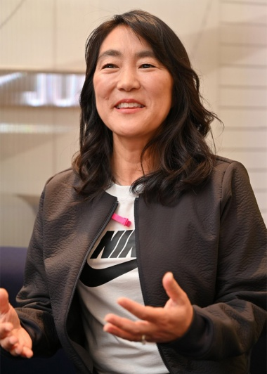 ナイキジャパン ナイキダイレクト デジタルコマースGM キャシー・キタヤマ氏