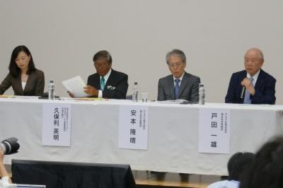 2019年7月23日に開催された「独立役員会」の記者会見