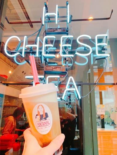 台湾発といわれる「チーズティー」