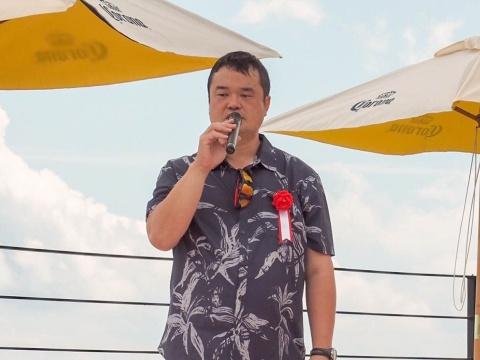 白馬マウンテンビーチで若い女性層の集客を狙う白馬観光開発の和田寛社長