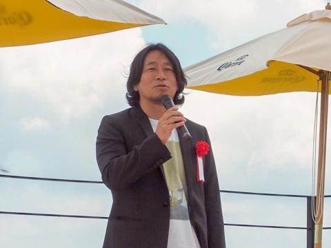 総合プロデュースを担当したトランジットジェネラルオフィスの中村貞裕社長