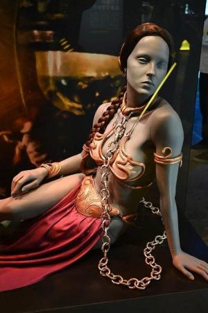 「スター・ウォーズ エピソード6/ジェダイの帰還」で使用されたレイア・オーガナの衣装