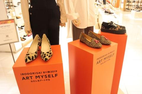 本館2階の婦人靴フロアに登場した「IT SHOESコーナー」では、旬のラグジュアリーブランドを集めてテーマに沿った商品をセレクトし、ブランドミックスで紹介する