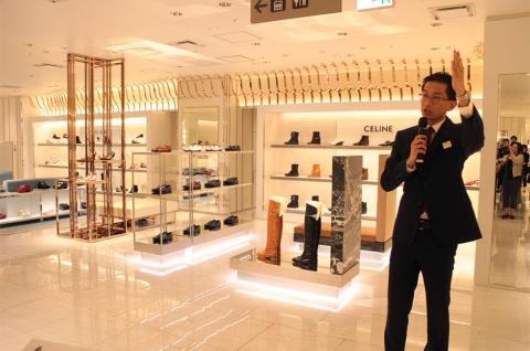 婦人靴フロア、ジュエリーショップがリフレッシュオープンした伊勢丹新宿店本館