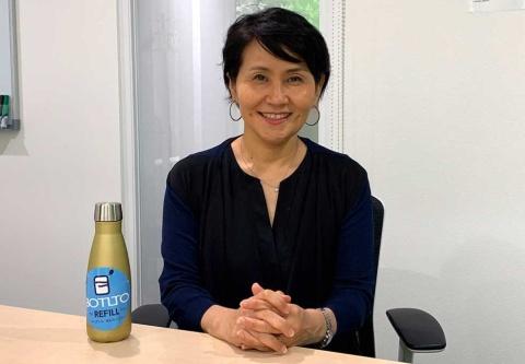 ボトルト代表取締役COOの飯田百合子氏