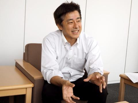 アイ・オー・データ機器でゲーミングデバイスを担当している、事業戦略本部販売促進部副部長 西田谷直弘氏