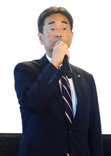 大塚食品執行役員で飲料事業部長の金子忠晴氏