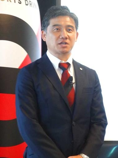 大塚食品飲料事業部副部長の小林一志氏は、eスポーツを端緒として認知を広めるブランディング戦略を語る