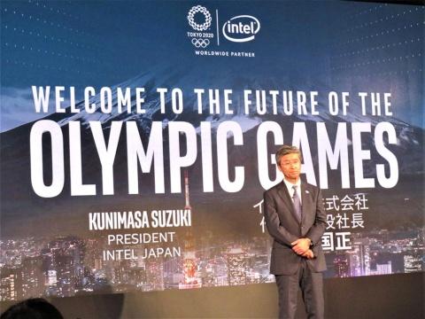 「東京五輪は我々にとってマイルストーンになる」と語る、インテル日本法人社長の鈴木国正氏